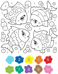 Coloring pages for kids educational coloring pages free printable coloring pages for kids kindergarten preschool – BuzzTMZ Preschool Learning, Kindergarten Worksheets, Preschool Activities, Teaching, Coloring For Kids, Coloring Pages, Colouring, Color By Numbers, Math For Kids