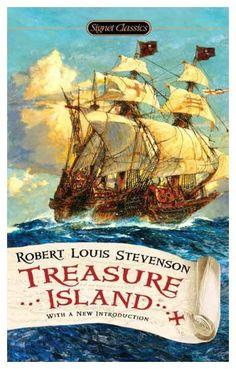 "Read ""Treasure Island"" by Robert Louis Stevenson available from Rakuten Kobo. Robert Louis Stevenson's rousing seafaring classic. ""Fifteen men on a dead man's chest— Yo-ho-ho, and a bottle of rum! Best Books To Read, Great Books, My Books, Arabian Nights, Jules Verne, Treasure Island Robert Louis Stevenson, Treasure Island Book, Science Fiction, Into The Fire"