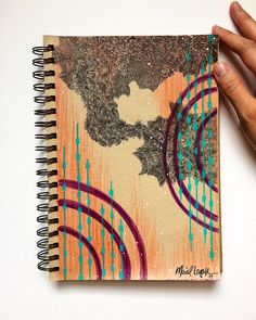 Mariel Lazo-Duran   Abstract with art markers, micropen, uniball pen, and gellyroll pen