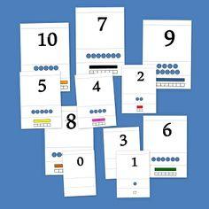 Números y regletas. Fichas de matemáticas para infantil Math Games, Preschool Activities, Free Frames, Math Numbers, Baby Learning, Teaching Math, Pre School, Speech Therapy, Montessori