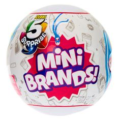 5 Surprise Mini Brands Mystery Capsule Collectible Toy by Zuru Toddler Toys, Kids Toys, Walmart Toys, Accessoires Barbie, Electronic Shop, Classic Board Games, Mini Things, Fidget Toys, Color Activities
