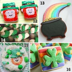 Tons of creative ideas! St. Patrick's Day Cookies