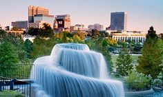 Columbia, SC fountain  www.russellandjeffcoat.com  Best Real Estate company in South Carolina.