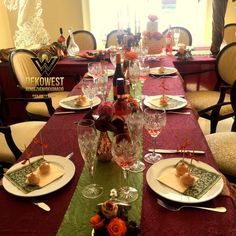 Table Settings, Place Settings, Tablescapes