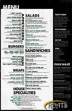 120 best cool menus and design images on pinterest editorial