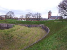 Vestingwallen, Naarden.