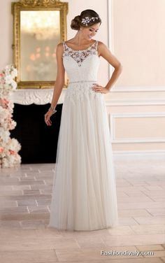 Stella York Wedding Dress 2018 - New Collections Designer Wedding Dress Tulle and Lace Wedding Dress (64)