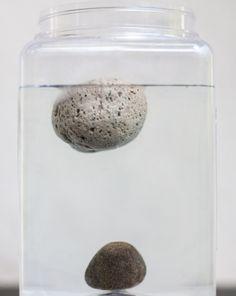 Science Fair: Floating Rocks