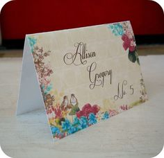 NEW  Personalized Shabby Cottage Chic Love by LittlePaperFarmhouse, $37.50