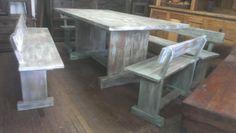 #comedores #maderareciclada #mesas