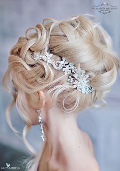 Long wedding hairstyles and wedding updos from Websalon Weddings / http://www.deerpearlflowers.com/websalon-weddings-wedding-hairstyles-and-updos/5/