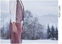 moi & les autres. surtout moi. designer - Laure Granval model - Flore Girard De Langlade supervisor - M. Kampe photographe - Laure Granval