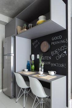 Busca imágenes de diseños de Cocinas estilo moderno de SESSO & DALANEZI. Encuentra las mejores fotos para inspirarte y crear el hogar de tus sueños.