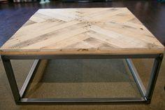 Pallet Wood Coffee Table by inhomecreative, via Flickr