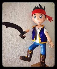 piñata de Jack el pirata