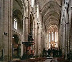 Saint Maximin la Sainte Baume- cathedral in Occitan honoring the relics of Mary Magdalene