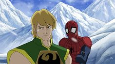 "ultimate spiderman iron fist | Ultimate Spider-Man ""Journey of the Iron Fist""http://www.toonzone ..."