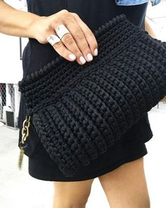 Crochet backpack pattern inspiration crochet bag from t shir yarn salvabrani – Artofit Crochet Bag + Diagram + Step By Step Tutorials Bobble Stitch Handbag Crochet Pattern with Video Tutorial DIY Tutorial - Crochet Easy Casual Friday Handbag with Lining Mochila Crochet, Bag Crochet, Mode Crochet, Crochet Shell Stitch, Crochet Clutch, Crochet Jacket, Crochet Handbags, Crochet Purses, Bobble Stitch