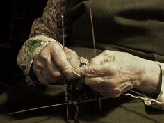 My grandmothers hands by saibia