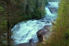 #1. Asheville / Brevard Loop Waterfall Tour & Scenic Drive: DuPont Forest, Looking Glass, Graveyard fields. 90 MI rounds trip.