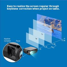 Vivibright GP100UP Android 6.01 WIFI Smart LED Projector 3500 Lumens 1280x800p 1080P HD Home Theater Home Theater Projectors, Led Projector, Computer Network, Office And School Supplies, Laptop Accessories, Hd Video, Wifi, Android, Usb