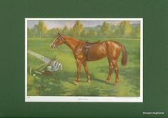 1923 Polo Pony Vintage Print by thinaircreations on Etsy