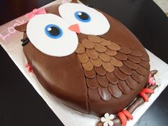 Look Whoo's One Cake I <3 this cake!