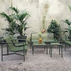 hay palissade loungechair  exclusieve buitenmeubelen #tuinmeubelen #dacks #amsterdam