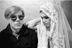 Andy Warhol and Edie Sedgwick at Warhol's Factory, 1965. Photo by Stephen Shore. Heroin