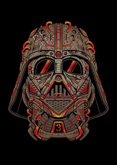 Monoponik Presents :Â Star Wars Darth Vader Tribute a poster project to celebrate Star Wars Day on May 2014 and May the Be w/ You!H Vader Star Wars Poster, Star Wars Art, Cuadros Star Wars, War Film, Samurai Armor, Star Wars Tattoo, Star War 3, Science Fiction Art, Skull Art