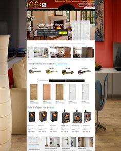 Os enseñamos nuestro diseño realizado para la página web de brico-valera, número uno en ventas online de puertas de madera. Disponen de un gran catálogo online de puertas, ventanas, armarios, herrajes, tarimas, estufas, herrajes, etc. ¡No dudeis en ver sus catálogos online y nuevos modelos! www.brico-valera.com  Web realizada por: http://www.fc-networks.com