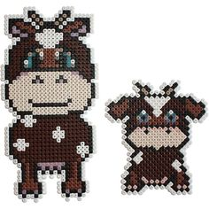Cows Nabbi perler beads