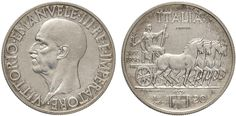 NumisBids: Nomisma Spa Auction 50, Lot 465 : Vittorio Emanuele III (1900-1946) 20 Lire 1936 Prova – P.P. 205 AG...