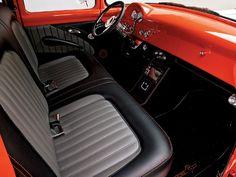 Brodie Stroud, Custom Ford F100 interior...