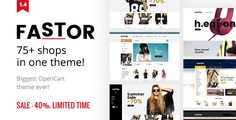 Download Nulled Fastor  Multipurpose Responsive Opencart Theme For Free