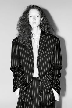 Model: Natalie Westling Photographer:Willy Venderperre