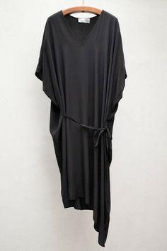 Christian Wijnants Black Devine Dress $650 shopheist.com