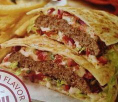 Applebee's Copycat Recipes: Quesadilla Burger