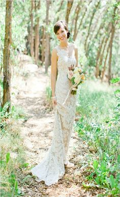 Bridal Musings wedding dress of the week is a chic and unique one shouldered lace gown over champagne silk called Bianca by Anna Maier ~ Ulla-Maija Couture Chic Wedding, Wedding Bride, Wedding Styles, Lace Wedding, Wedding Photos, Dream Wedding, Quirky Wedding, Wedding Beach, Bride Groom