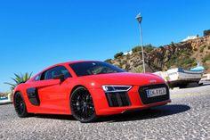 Audi R8 V10 Plus 2017 Red