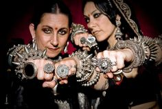 Colleena Shakti's Vintage Jewelry Collection is partly based on Orissa's tribal Jewelry