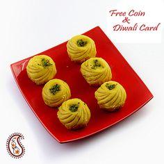 Kesar Pedas with Free Laxmi Ganesh Coin