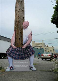 highland games advert