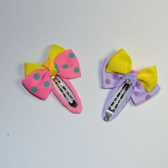 Gadfly- 3pc Child Hair Accessory Bow Hairpin Silks and Satins Side-knotted Clip Baby Bb Clip Hair Accessory. Random Colors >>> Check out this great product.