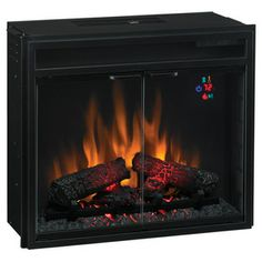 New and Improved - Classic Flame Electric Fireplace Insert