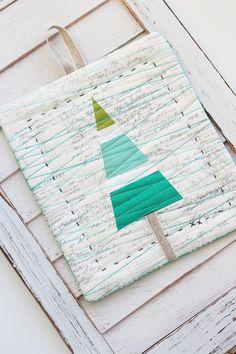 Mini tree quilt at Nana Company.  Art Gallery Fabrics.