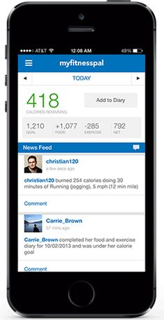 MyFitnessPal.com | Counting calories has never been easier! You can log most meals in under a minute by searching MyFitnessPal's extensive database of brand name foods. If you made something from scratch, you can input the recipe, and the app will estimate it's nutritional information too. And once you start regularly using the app, it gets to know your diet and saves a list of your favorite foods that can be added to your daily intake with just the tap of a button. (Free: iOS and Android)
