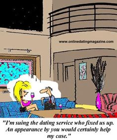 Ever felt the match an online dating service gave you was a bad one?