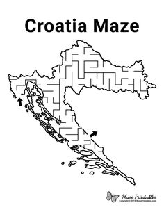 Free printable Jamaica maze. Download the maze and