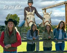 Georgie, Amy, Jade, Cassandra & Lou #Heartland